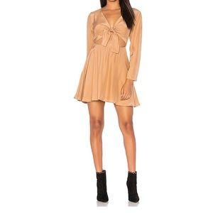 SIR Long Sleeve Dress in Dusty Pink (NWT)